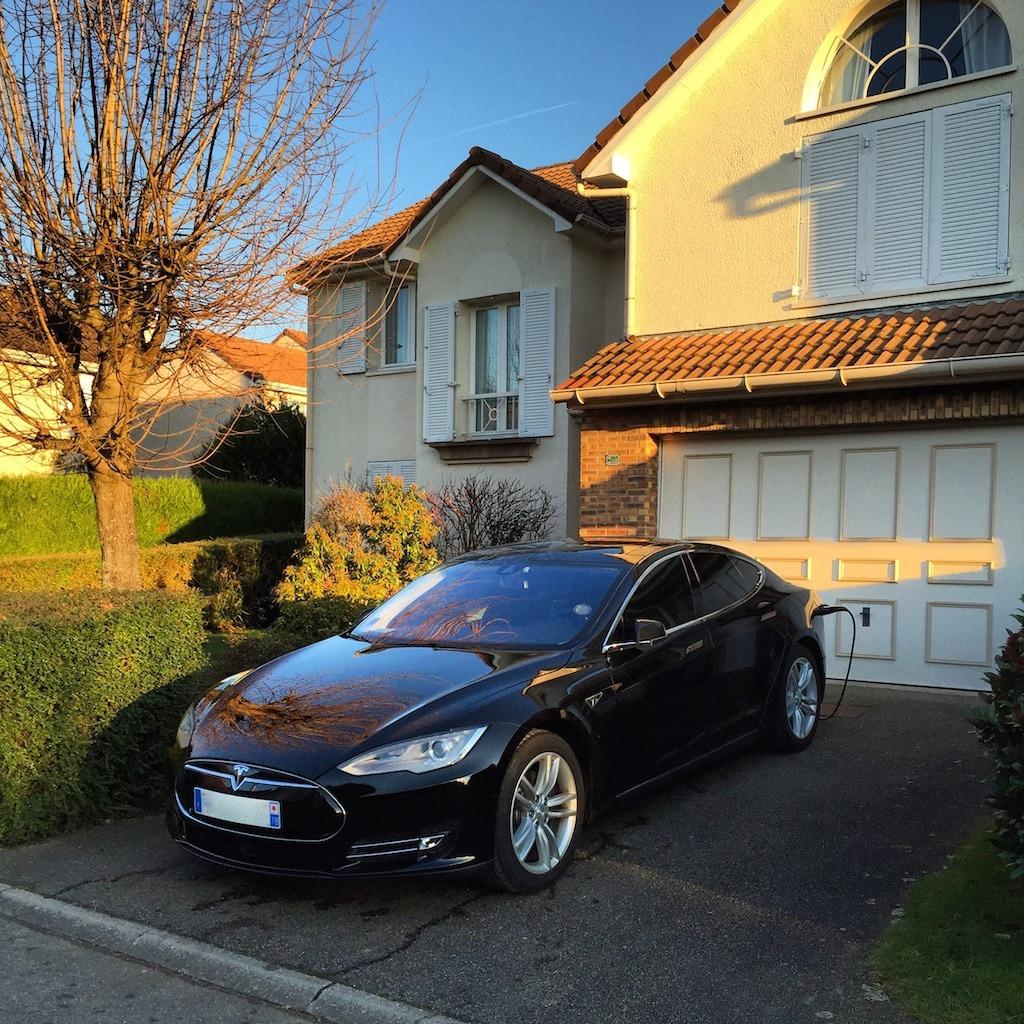 J'ai pu tester la Tesla Model S !