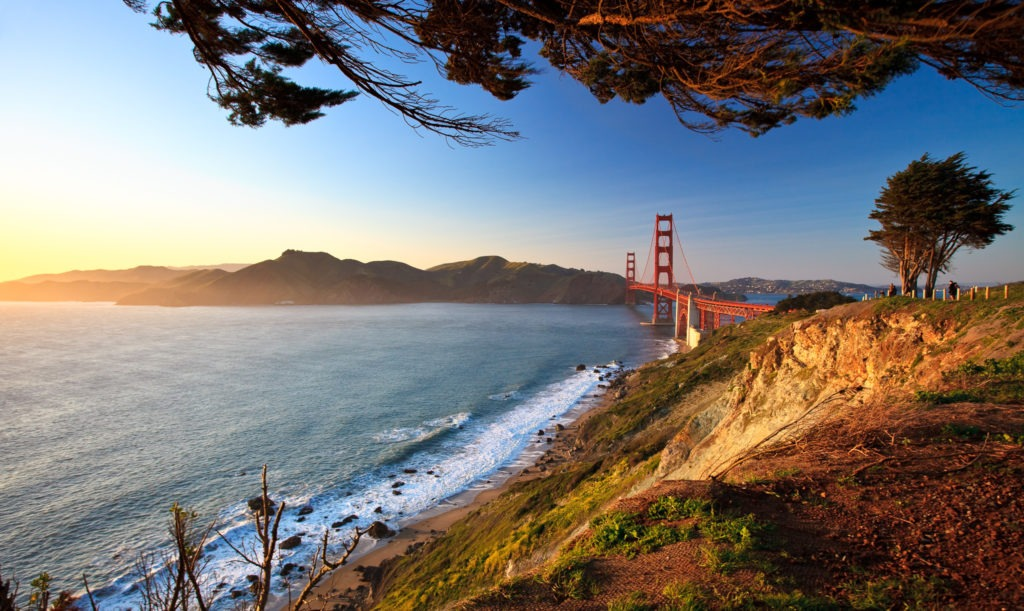 Golden Gate Afternoon