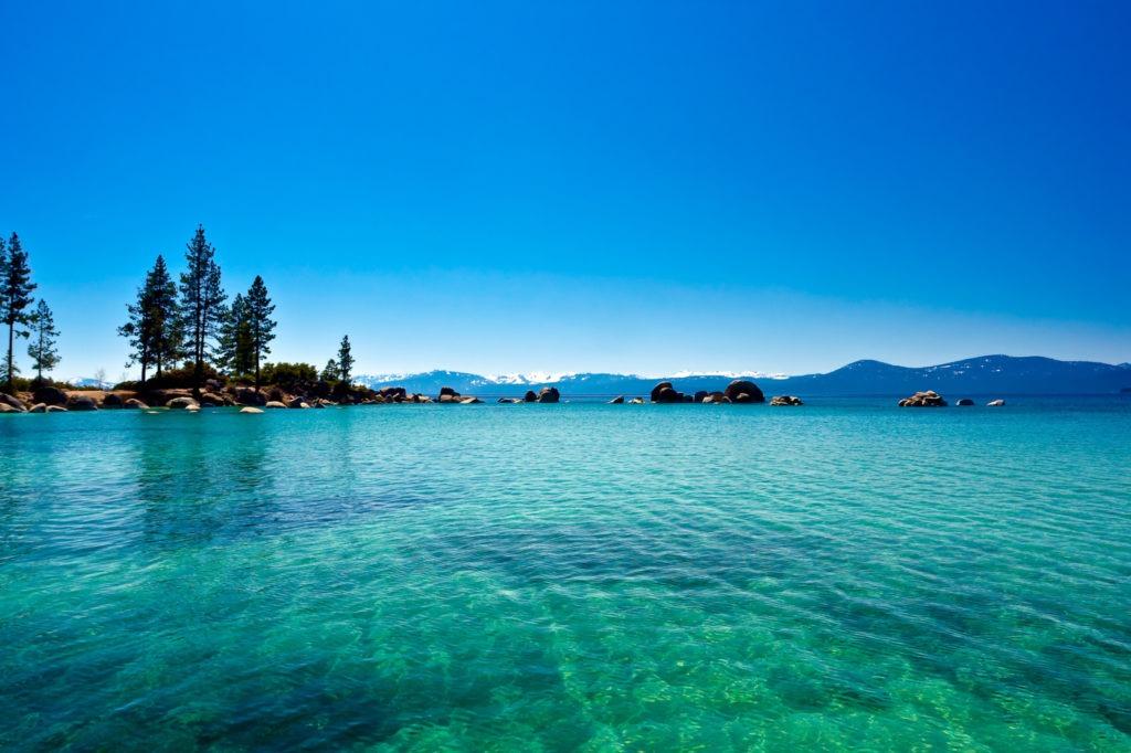 Lake Tahoe Colors