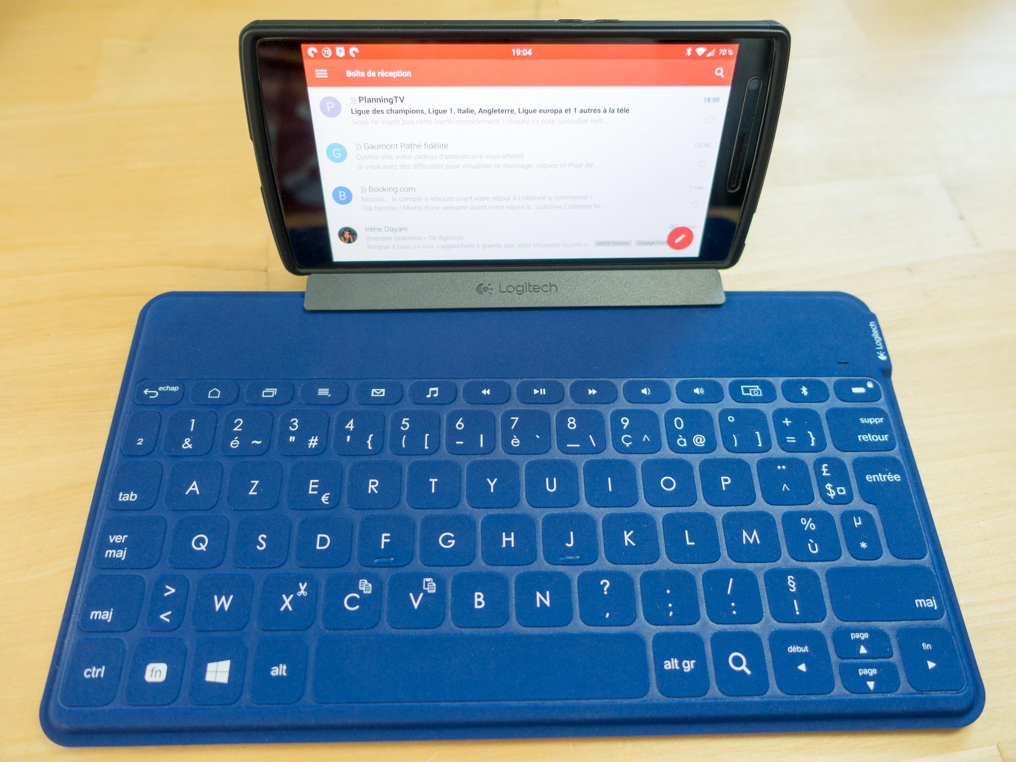 Test du nouveau clavier Logitech Keys-to-go