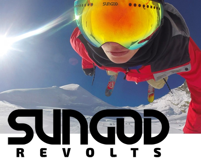 SunGod lance un nouveau produit : SunGod Revolt (masque de ski)!