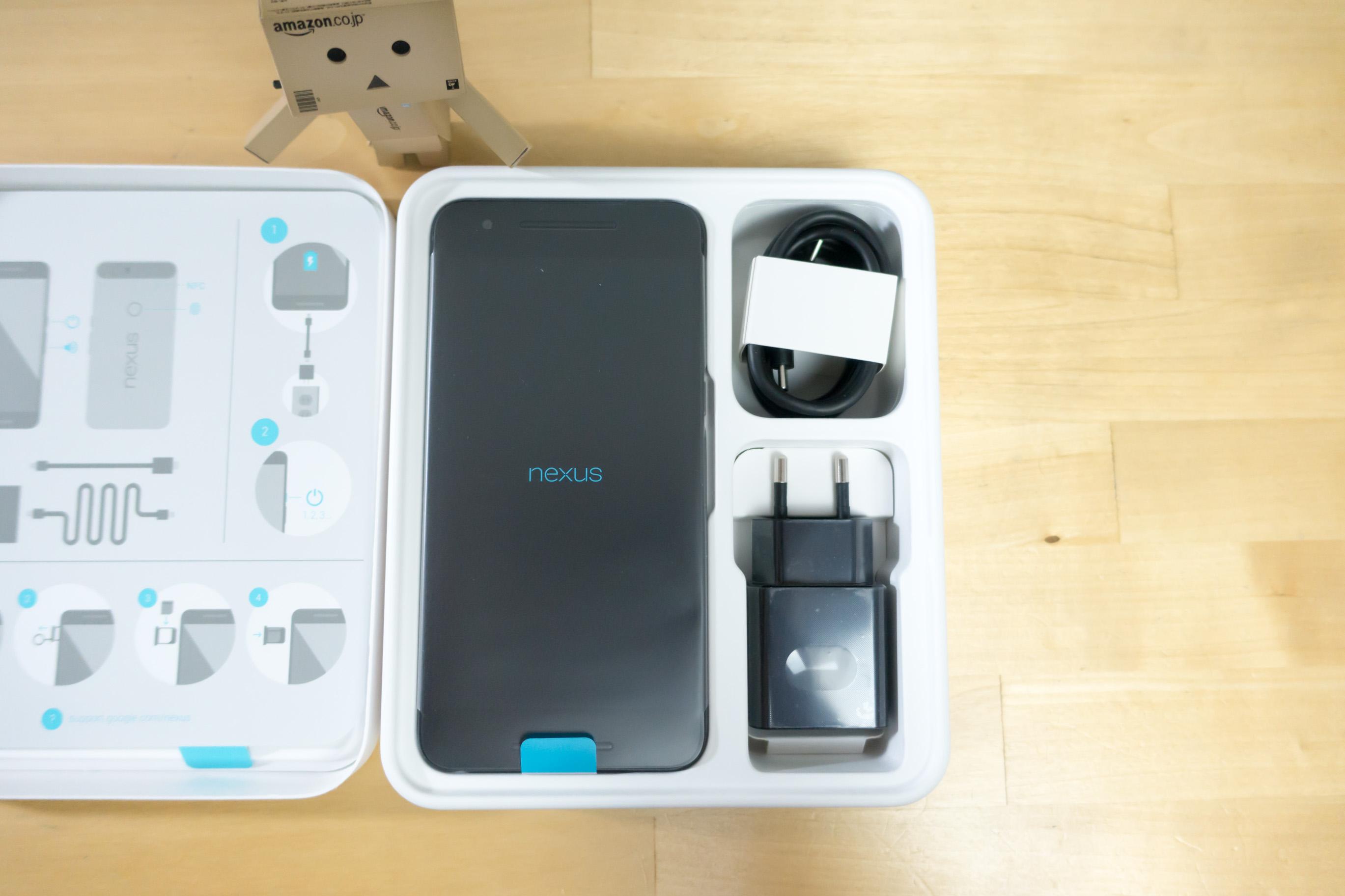 ENORME unboxing du Nexus 6P, et comparatif avec le Nexus 6