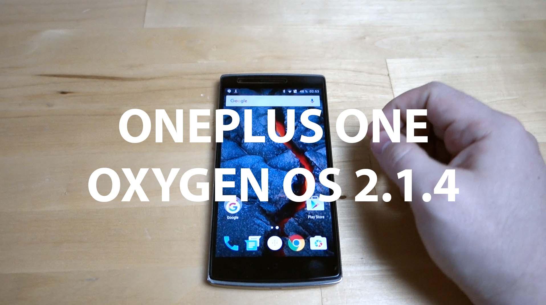 Oxygen OS sur OnePlus One – aperçu en vidéo