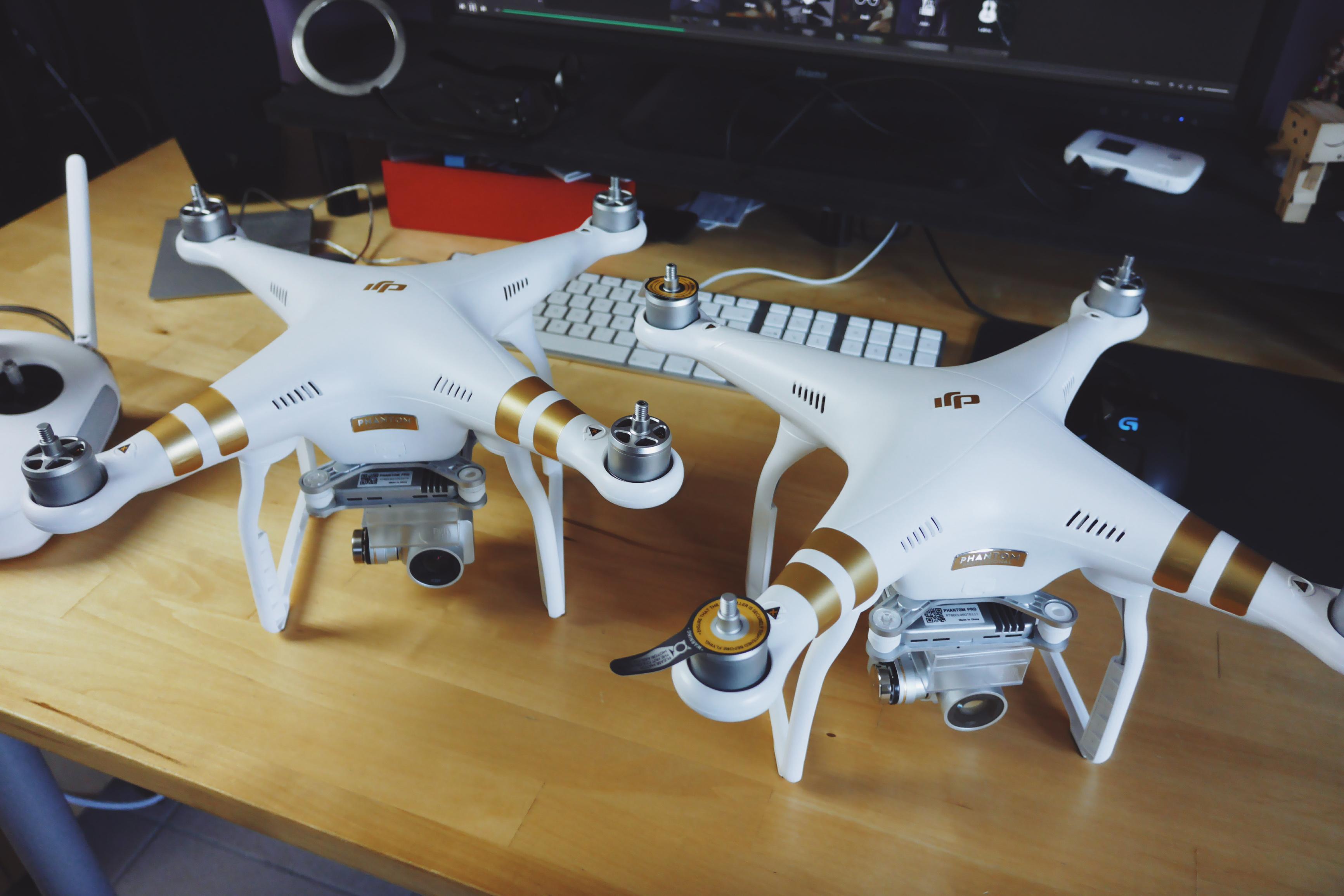 Drones : mon matériel (mis à jour)