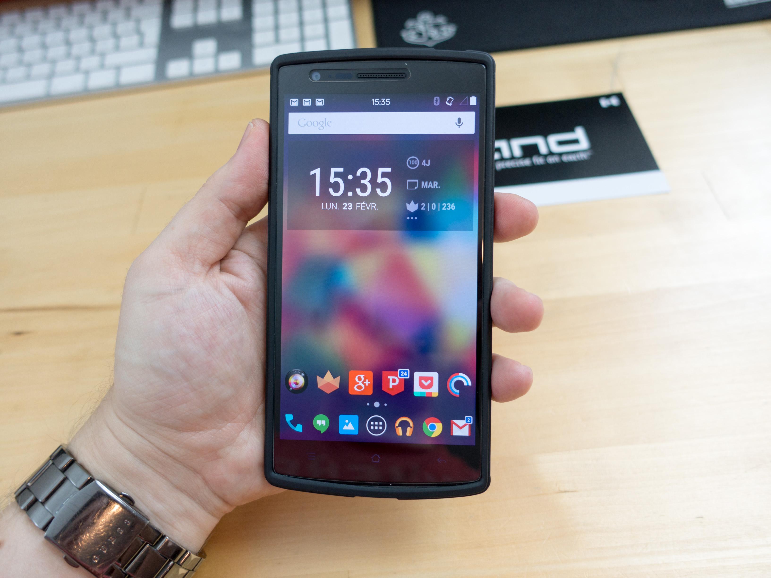 Le OnePlus One sous CyanogenOS 13 ! (vidéo)