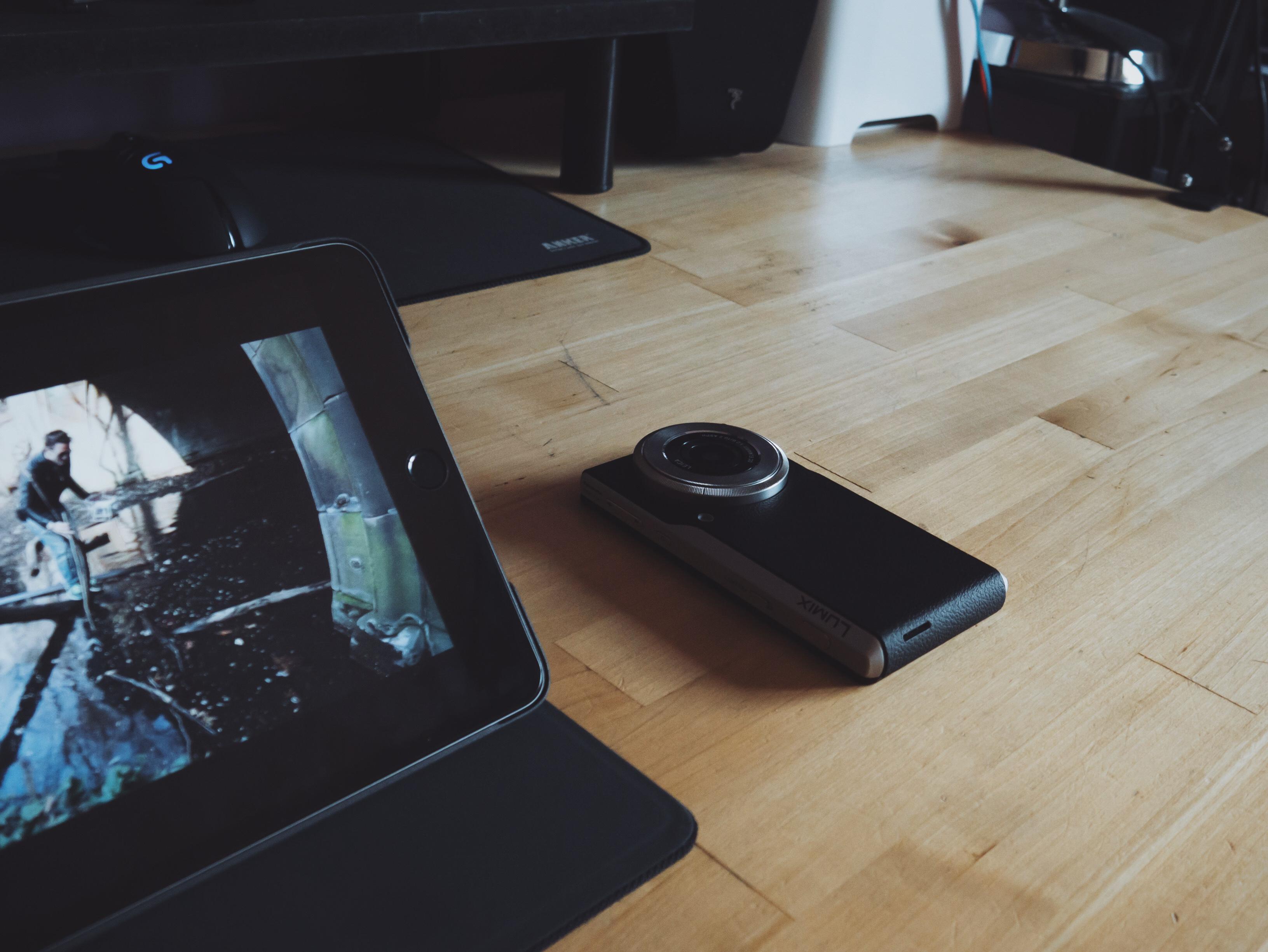 Un photophone au quotidien : mon test du Lumix DMC CM1