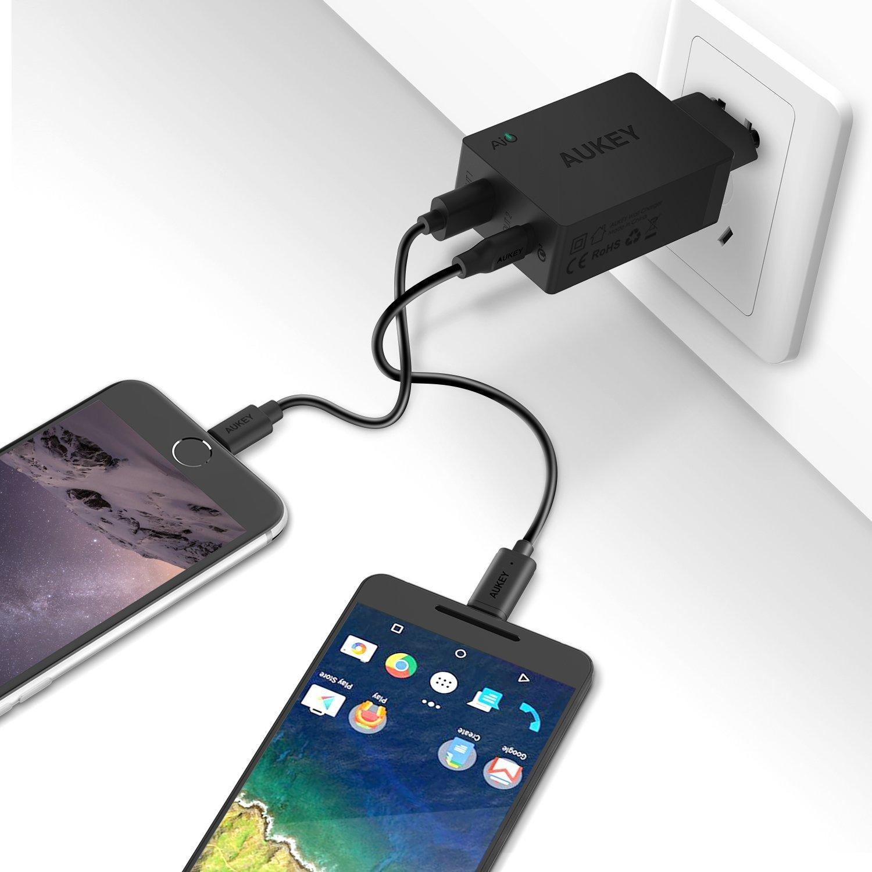 Le meilleur chargeur compact USB / USB-C par Aukey