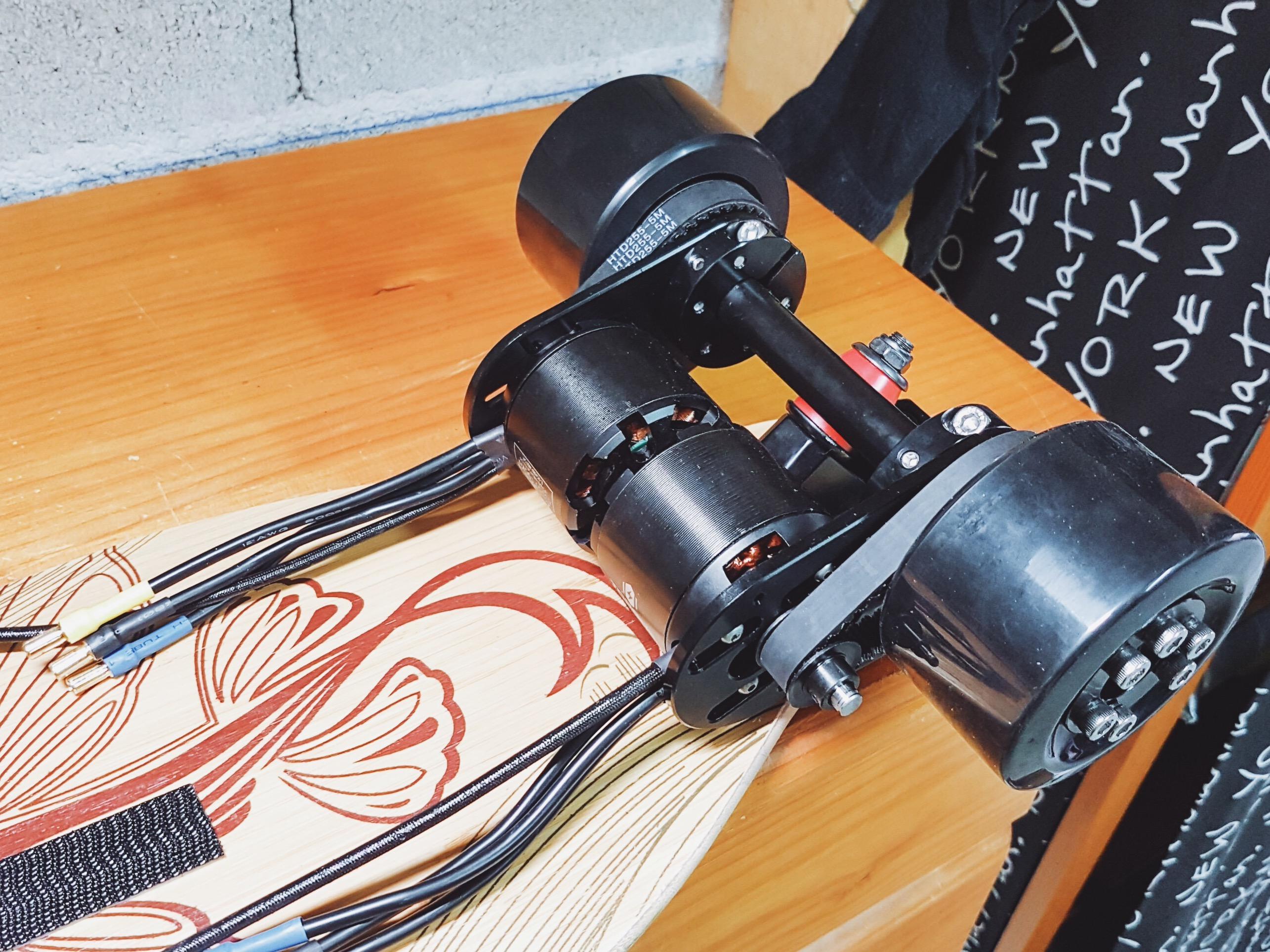(Tuto 2) Construire son skate électrique : assemblage & réglages