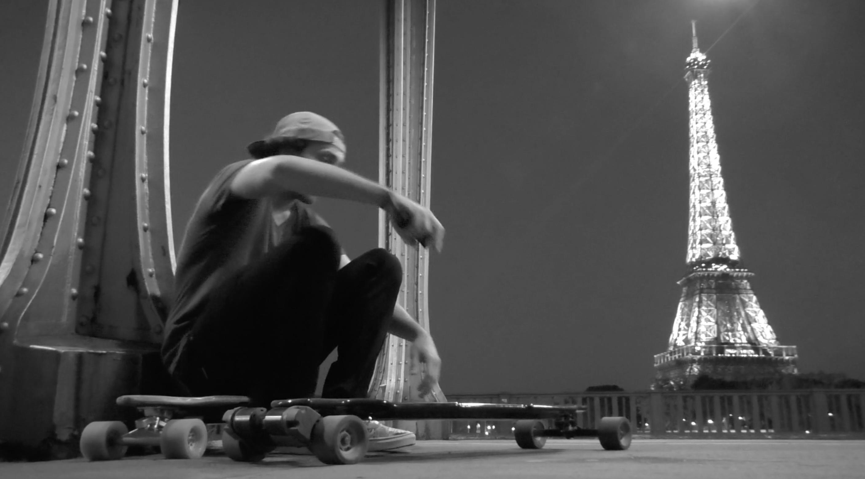 «Ride in Paris» vidéo exceptionnelle sur le skate électrique !