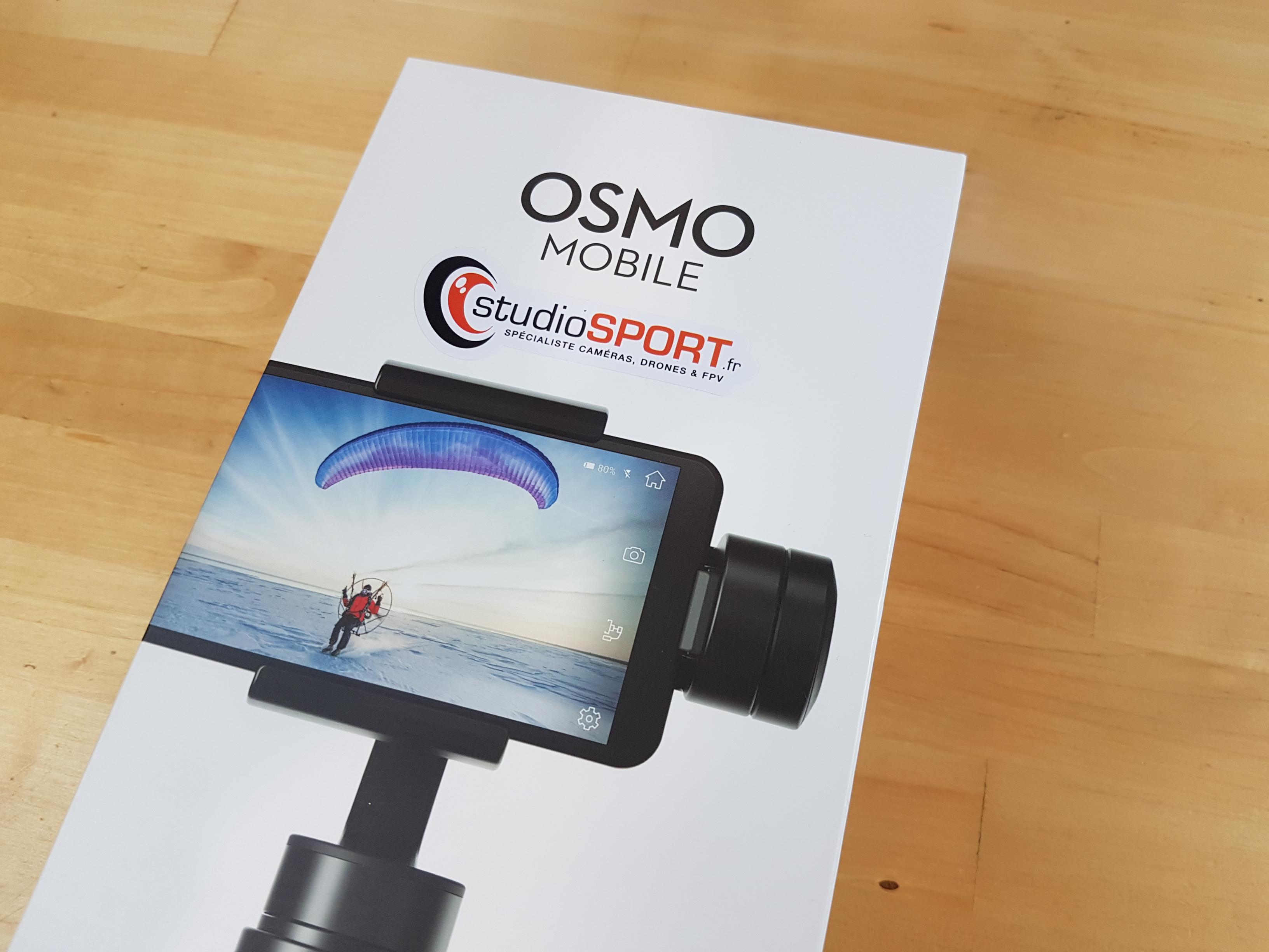 Test du DJI Osmo Mobile : un outil professionnel