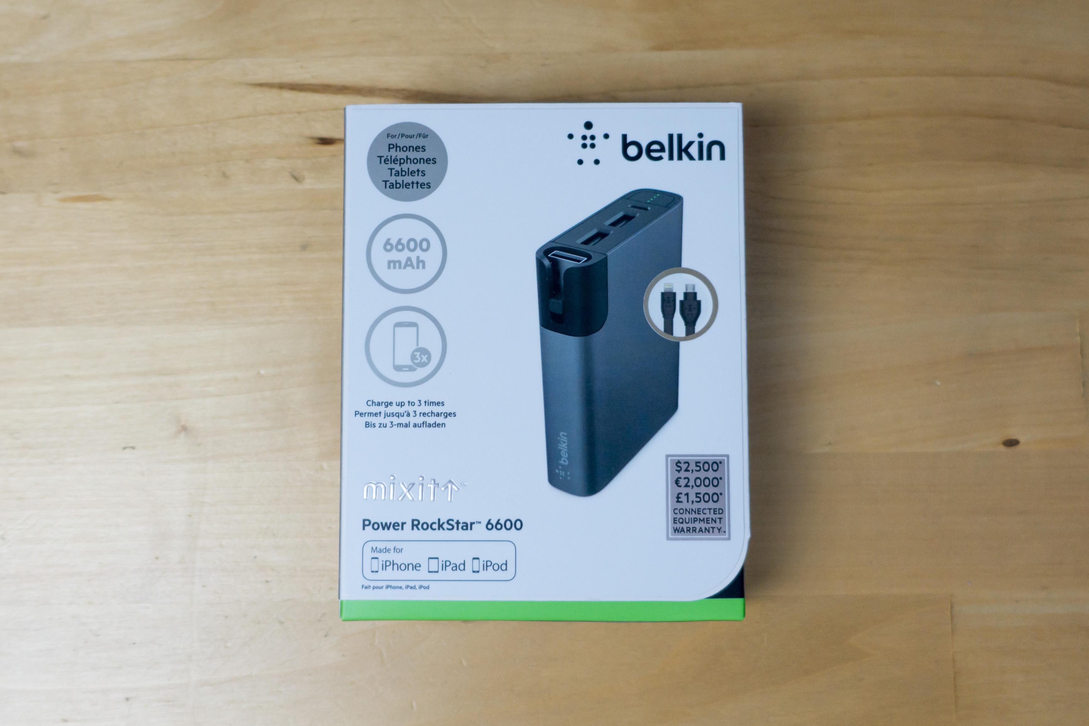 test de la batterie externe belkin mixit une petite fonction en plus. Black Bedroom Furniture Sets. Home Design Ideas