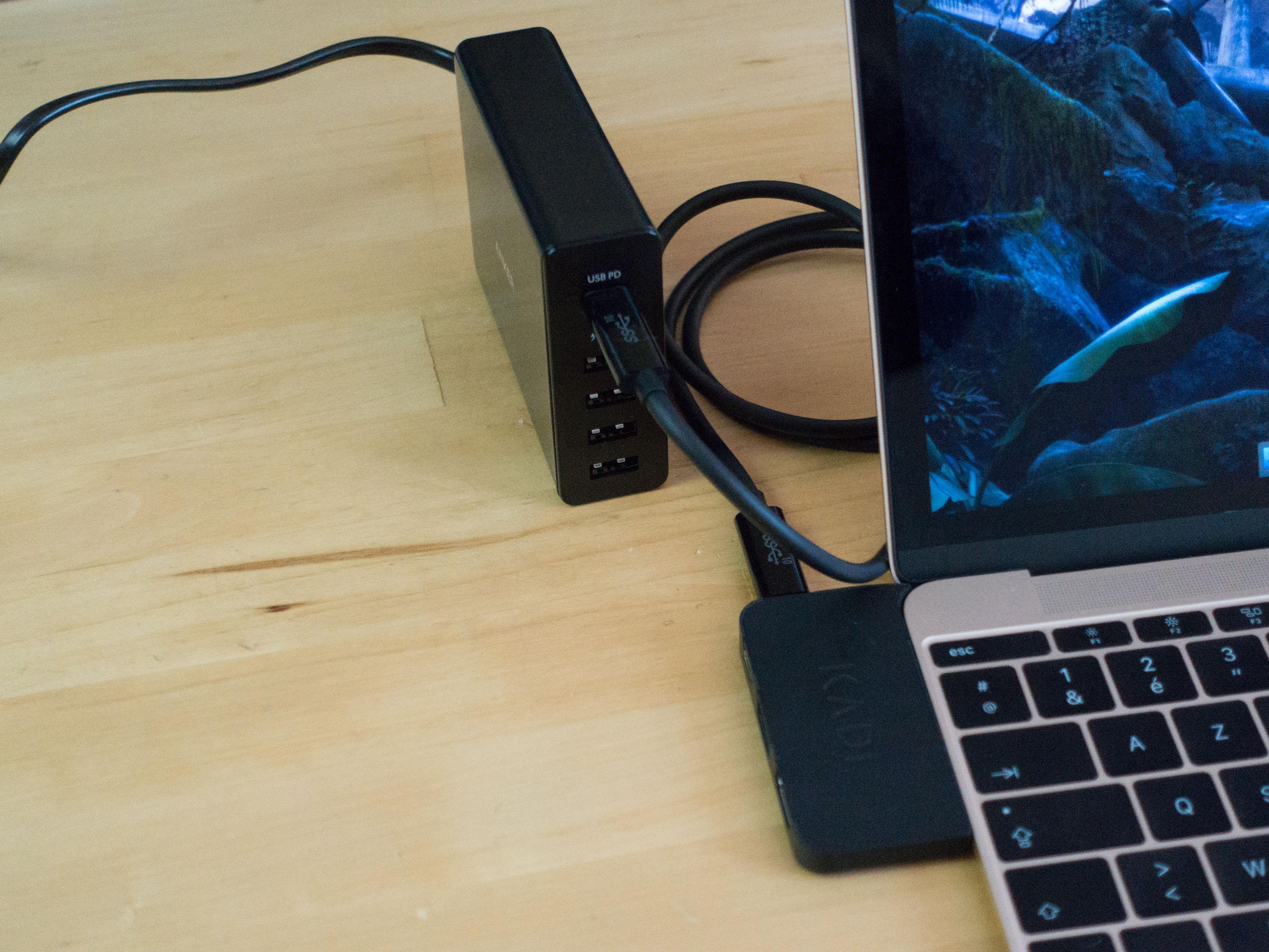 Anker PowerPort+ 5ports USB-C : le top des chargeurs USB pour MacBook