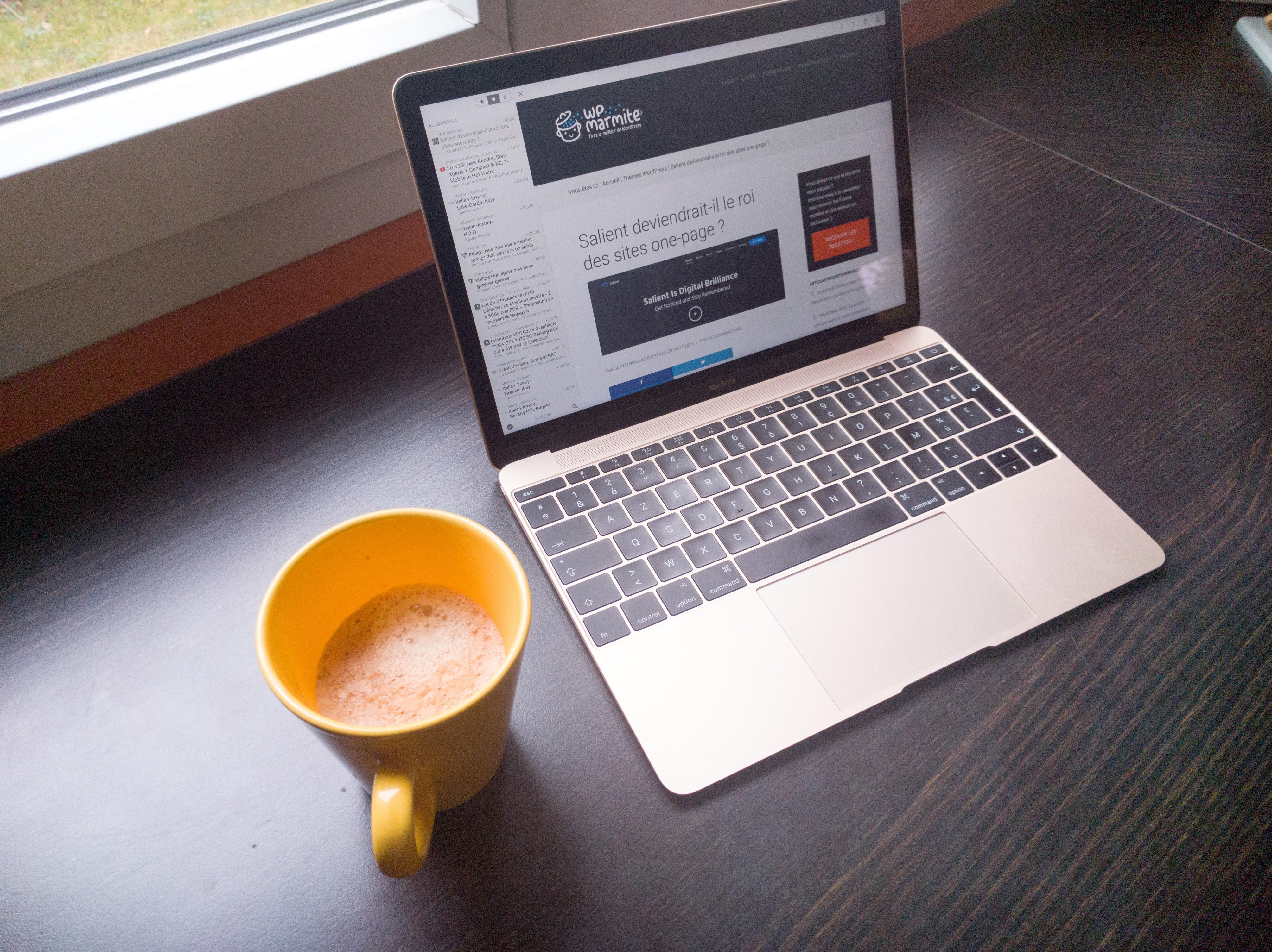 Le work-flow pour écrire mes articles