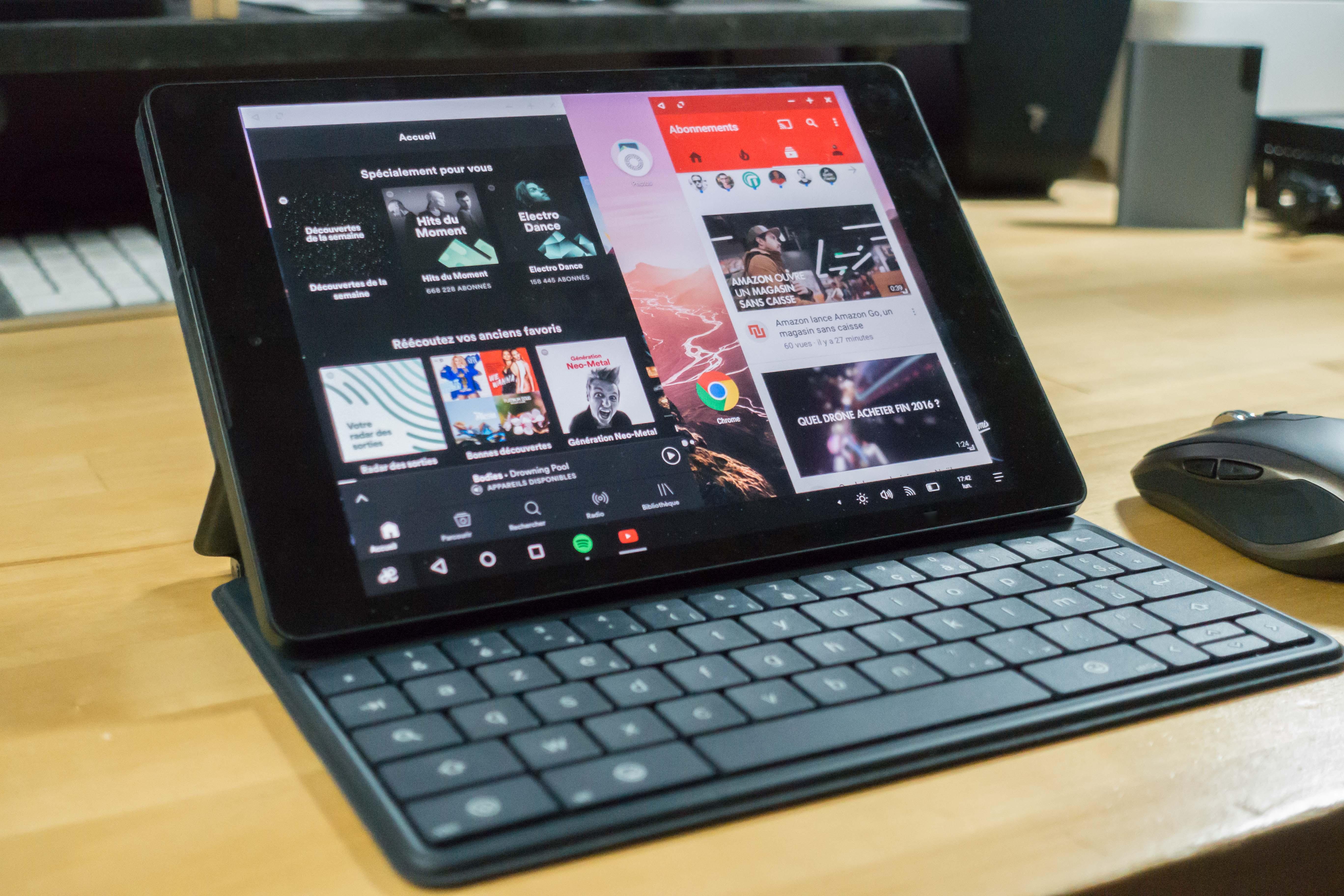 Remix OS 3.0 sur Nexus 9 : présentation