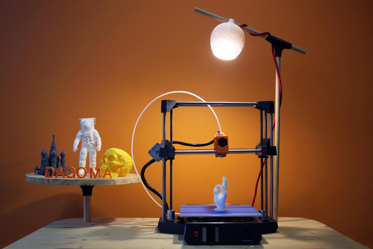 imprimante 3d dagoma discoeasy 200 le test blabla high tech. Black Bedroom Furniture Sets. Home Design Ideas