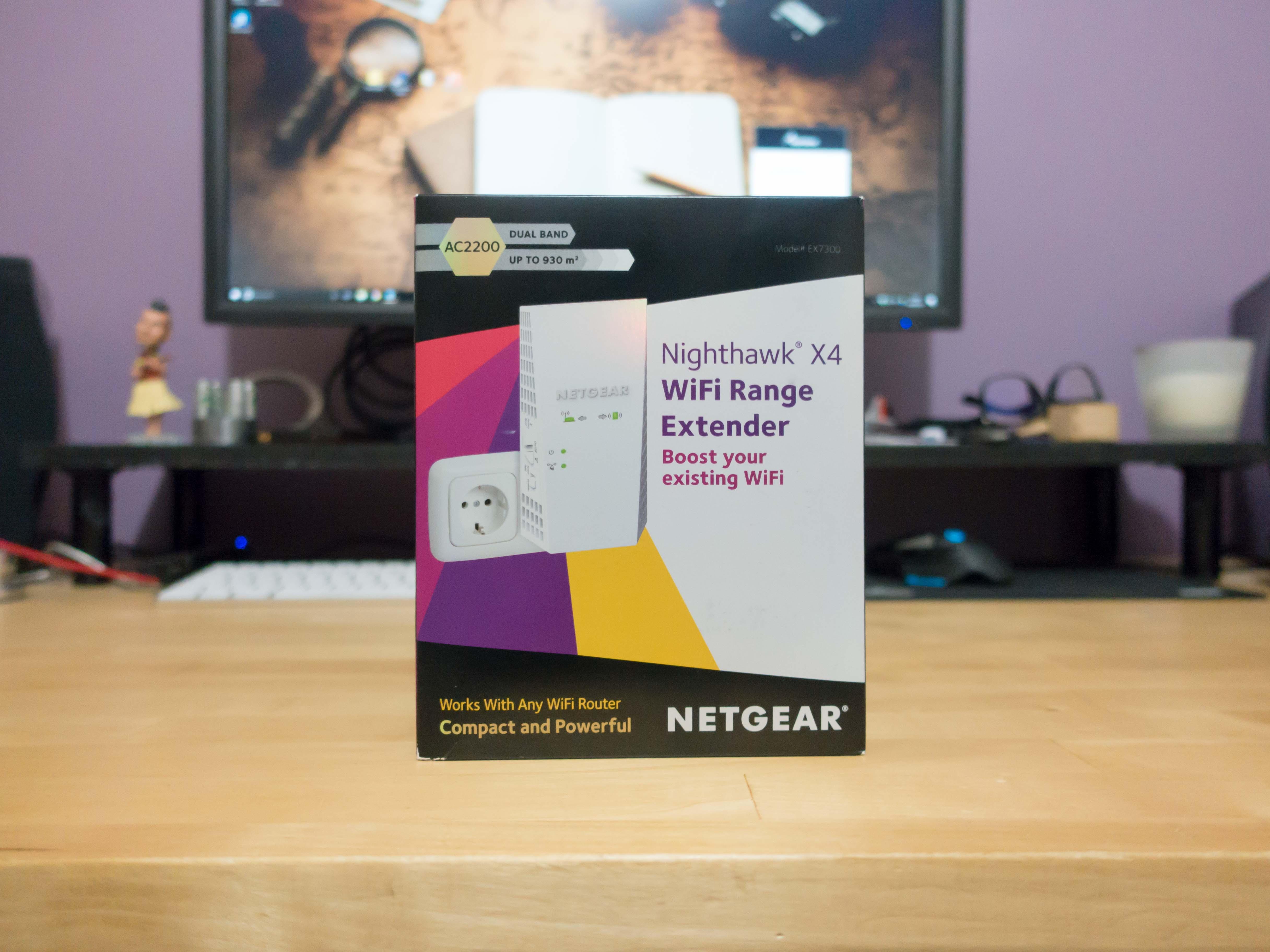 Etendre votre réseau wifi avec le répéteur Wifi Nighthawk X4 EX7300 de Netgear