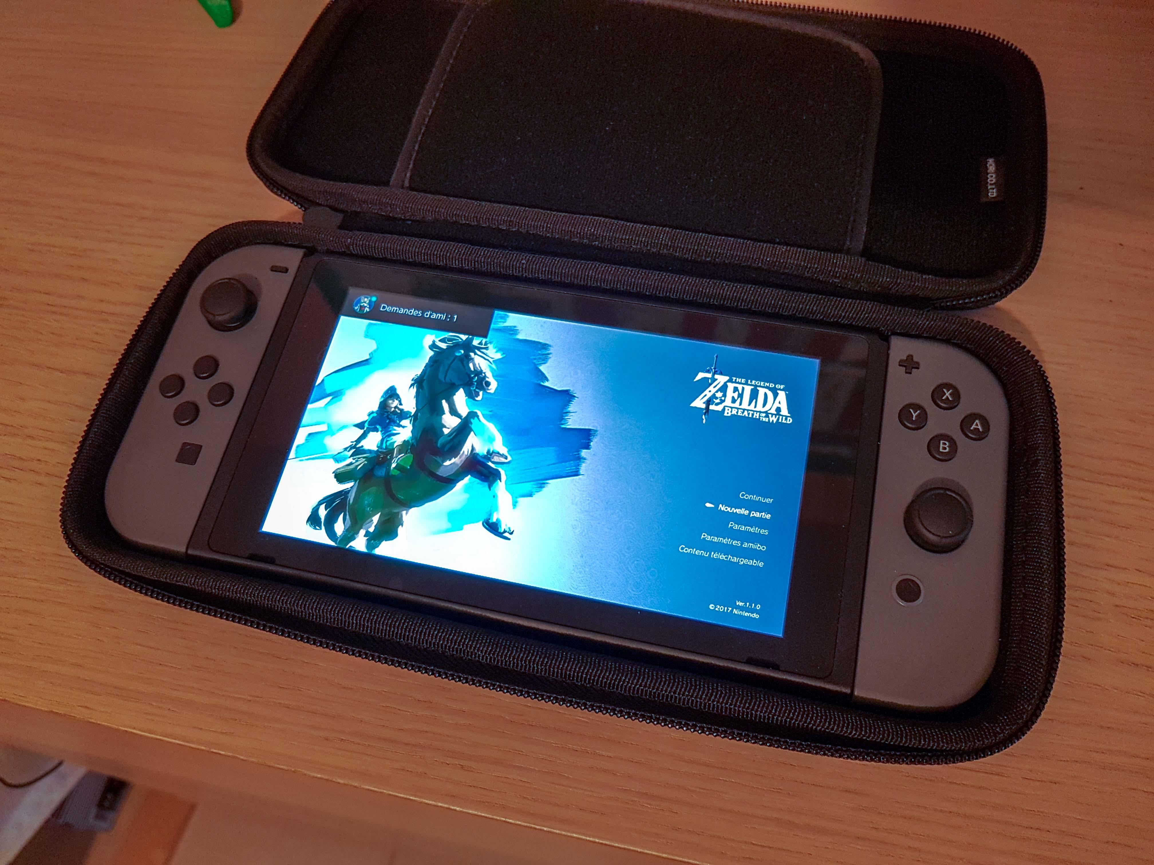 Housse Hori pour Nintendo Switch: mon avis