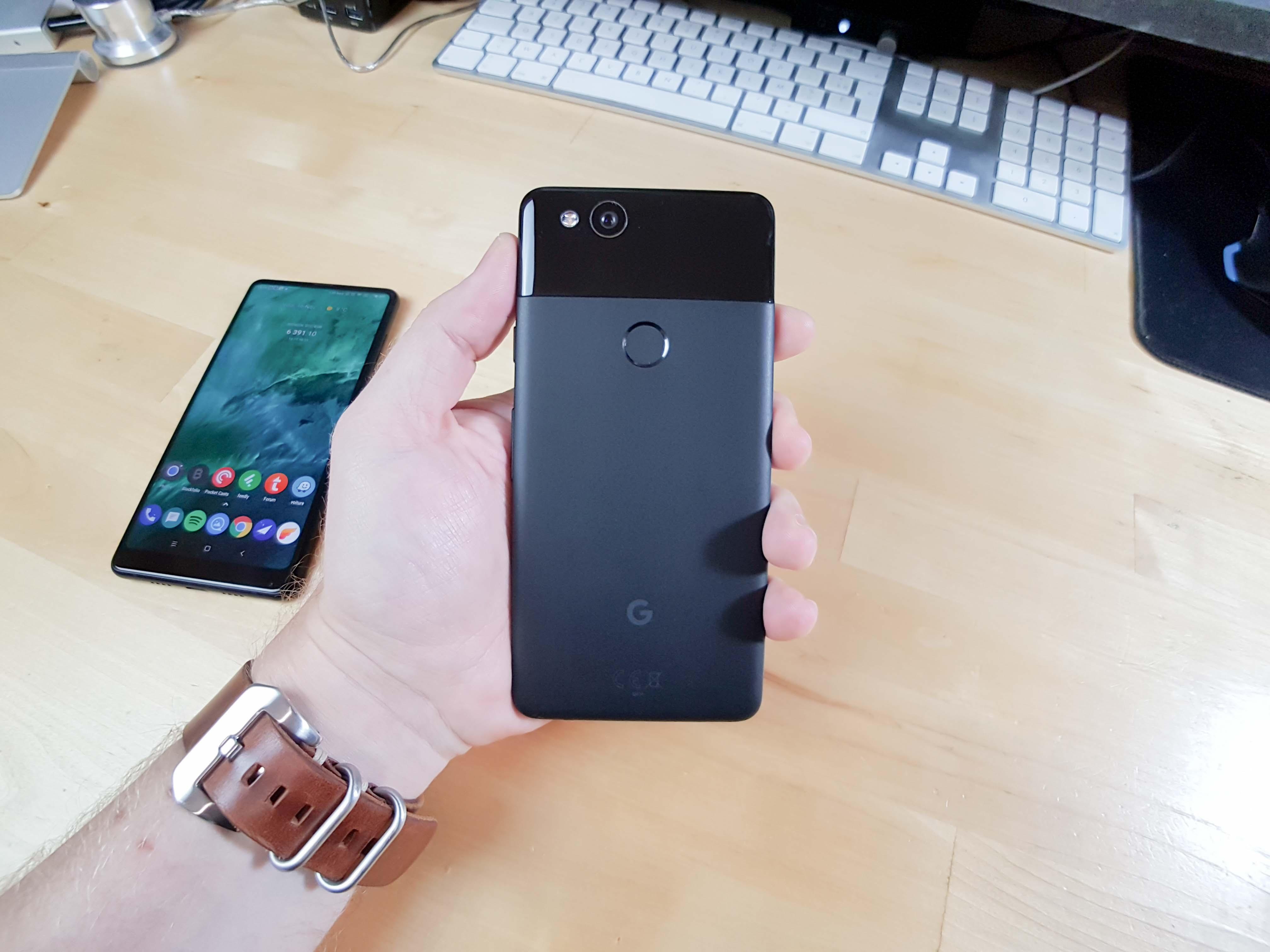 Google Pixel 2 : déballage