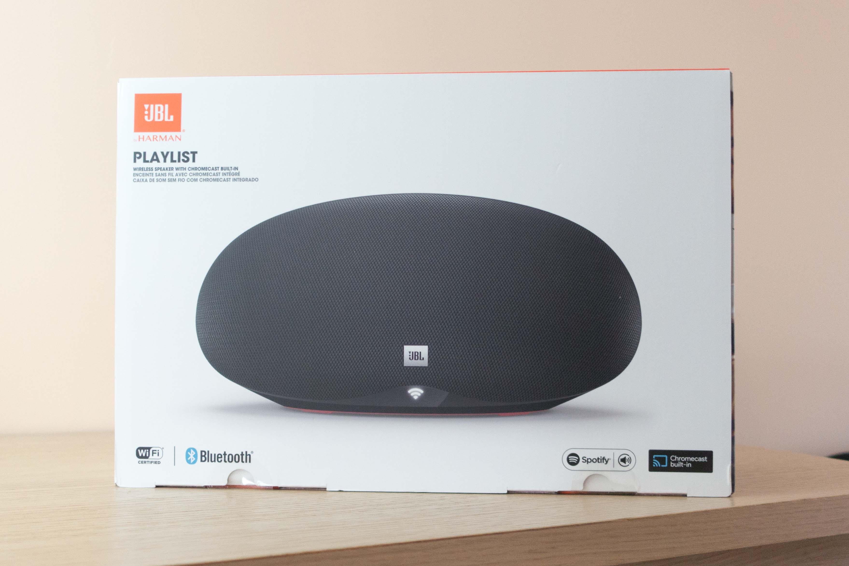 JBL Playlist : enceinte multiroom & excellent complément de Google Home