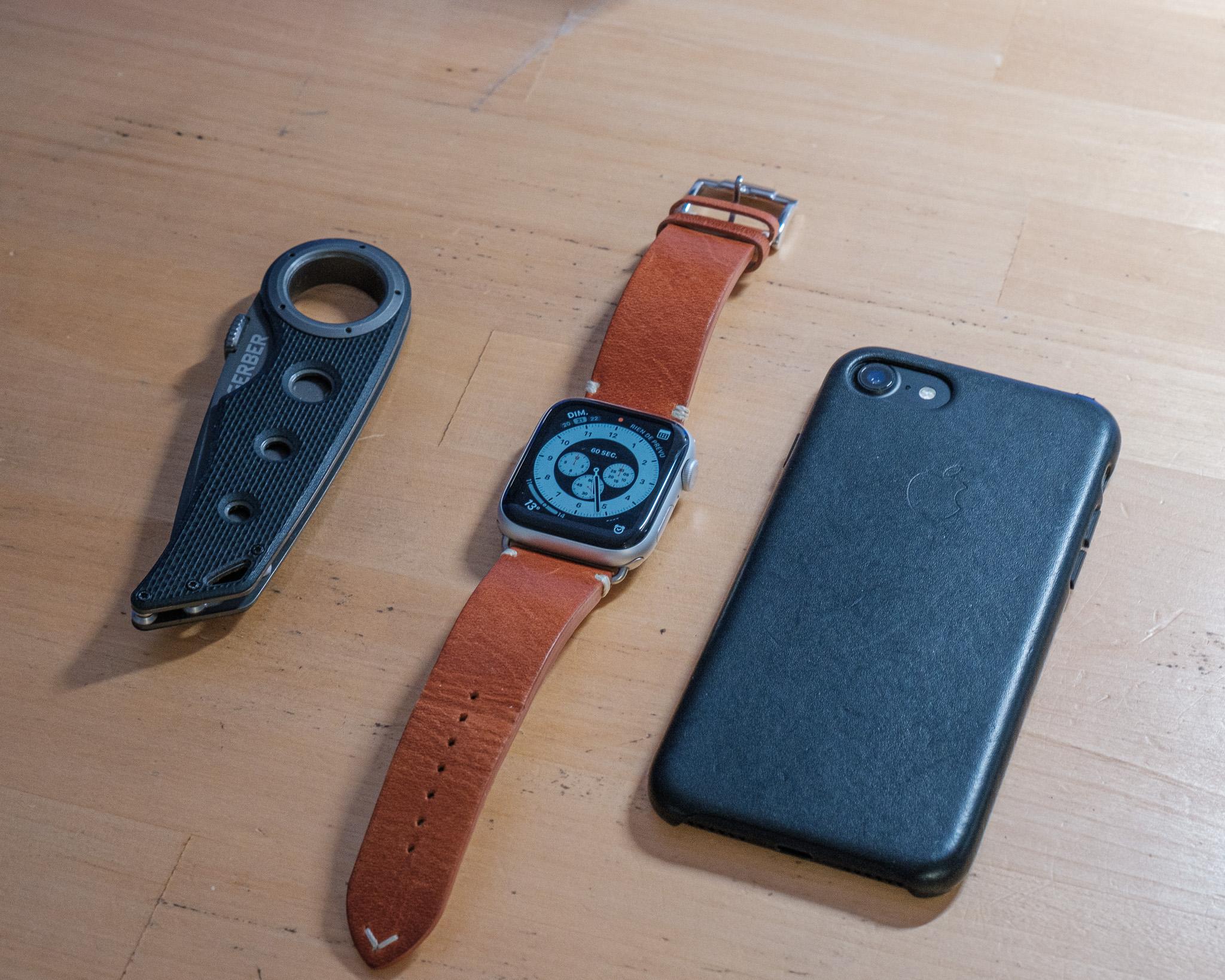 Bracelet vintage pour Apple Watch: un très bon modèle chez Eternel ! (& code promo)