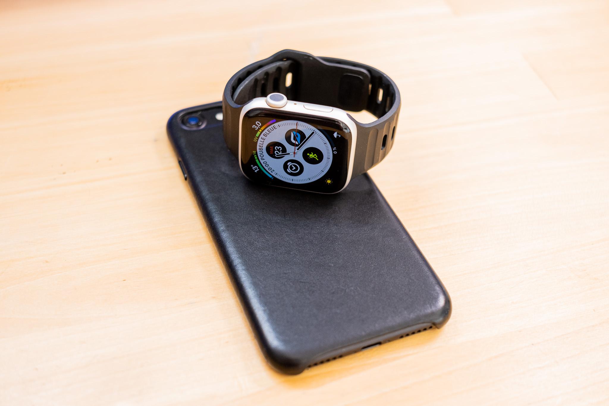 2 Bracelets Nomad pour Apple Watch: Modern Strap & Sport Strap